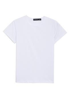 三福2018净色圆领T恤修身短T恤  童款