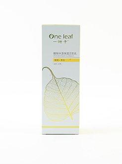 一叶子酪梨水漾保湿洁面乳 深层清洁控油清爽温和洁净