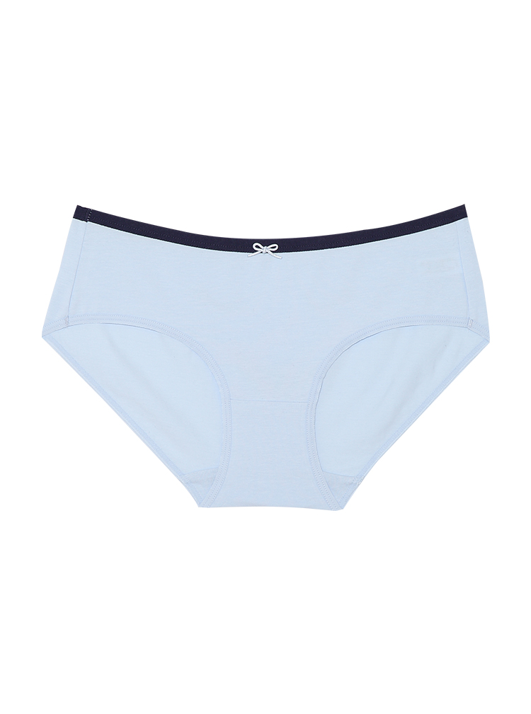 圣绯蕊 女半平角内裤 水果笑脸可爱印花莱卡棉亲肤底裤