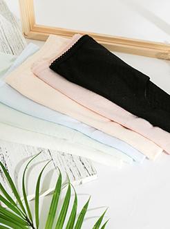 圣绯蕊 女半平角内裤 成熟高腰贴边亲肤莱卡棉底裤