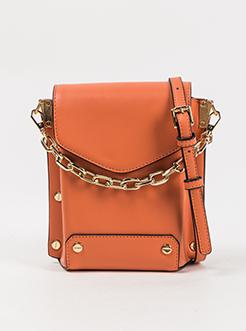 三福2019女夏韩系系列PU链条手提手机包盒子包挎包女包