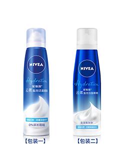 妮维雅 云柔盈泡洁面慕斯 温和补水深层清洁泡沫洗面奶