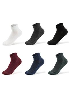 三福 男船袜3双组合装  吸水速干抑味居家隐形潮男袜子