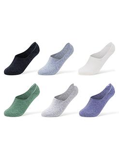三福 男船袜3双装 防滑抑味休闲低帮组合装隐形男袜子