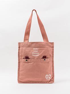 三福2019女韩系系列原宿风帆布包手提单肩包挎包女包