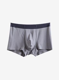 三福 男平角內褲 基礎莫代爾柔軟舒適無痕四角底褲